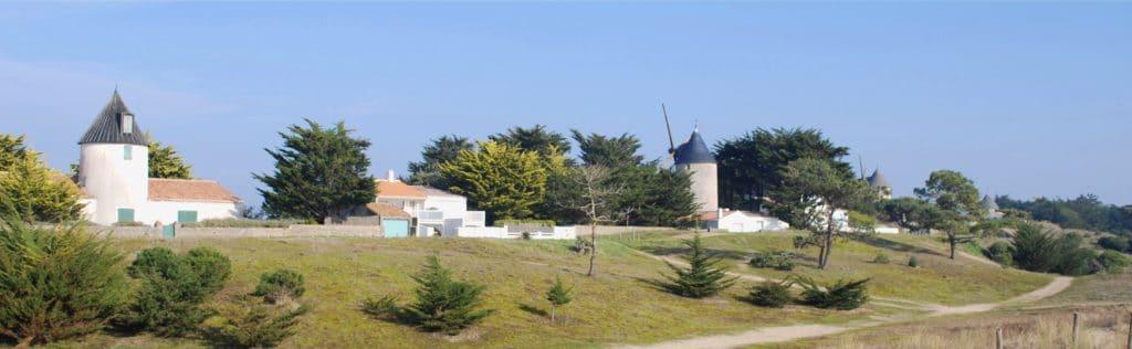 que faire à Noirmoutier passage du gois moulins la guérinière