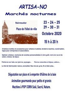 Marché nocturne artisa-no noirmoutier