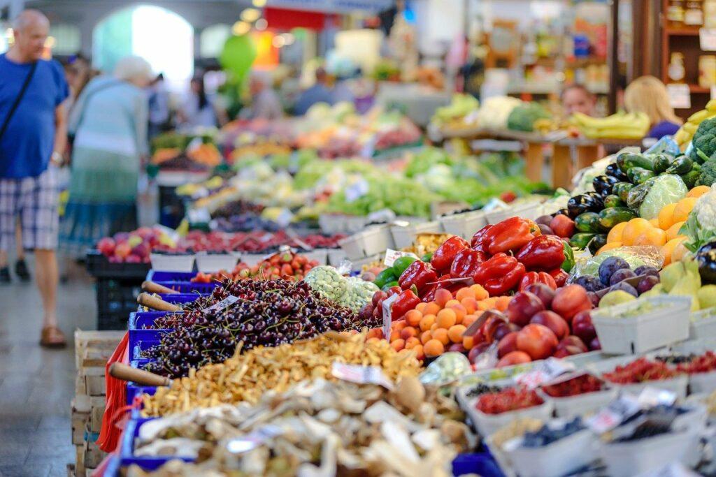 marché légumes noirmoutier